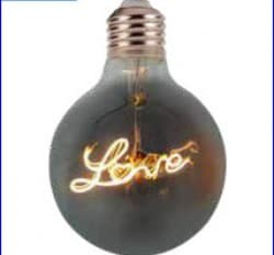 Bec ornamental led LOVE