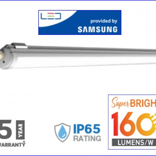 Lampa led 32w ip65 160lm/watt