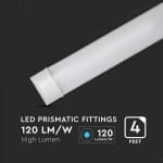 Lampa led prismatic 120cm